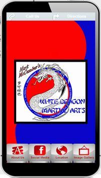 Mark McCumber's WHITE DRAGON poster