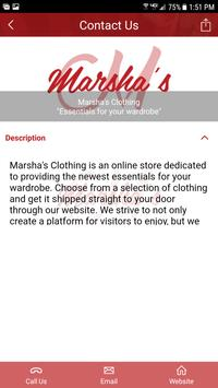 Marsha's Clothing apk screenshot