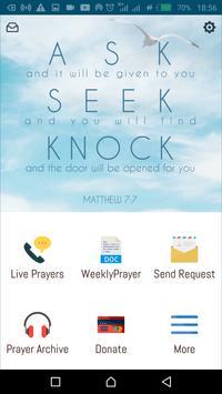 Matthew 7v7 Prayer Network screenshot 1