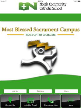 Most Blessed Sacrament Campus poster
