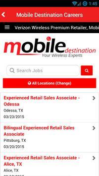 Mobile Destination screenshot 1