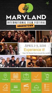 MD International Film Festival poster