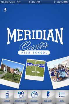 Meridian High School Athletics poster
