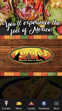 Coyote's Mexican poster