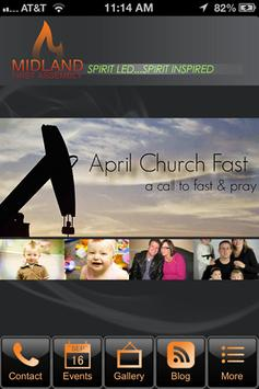 Midland First Assembly of God poster