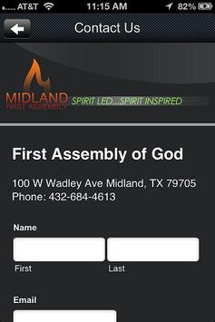 Midland First Assembly of God screenshot 3