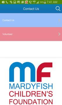 Mardy Fish Children Foundation screenshot 4