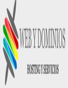 Web y dominios poster