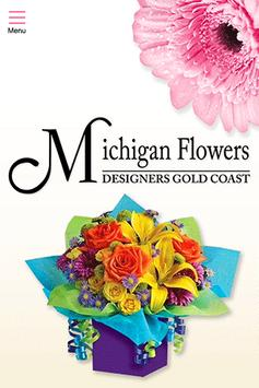 Michigan Flowers poster