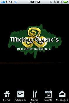 Mickey Byrne's Irish Pub poster