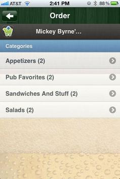 Mickey Byrne's Irish Pub apk screenshot