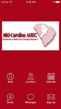 Mid-Carolina AHEC poster
