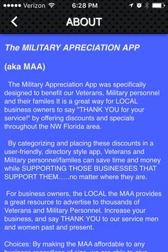Military Appreciation App apk screenshot