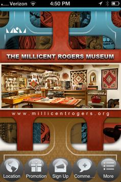 The Millicent Rogers Museum poster