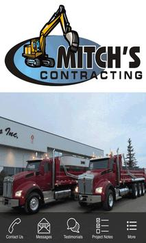 Mitchs Contracting Services poster