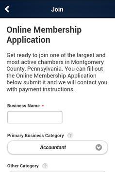 Montgomery County Chamber screenshot 3