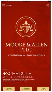 Moore & Allen PLLC, Attorneys poster