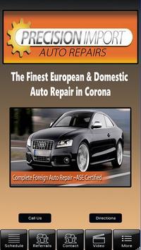 Precision Import Auto Repair poster