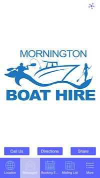 Mornington Boat Hire poster