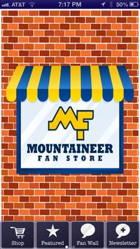 Mountaineer Fan Store poster