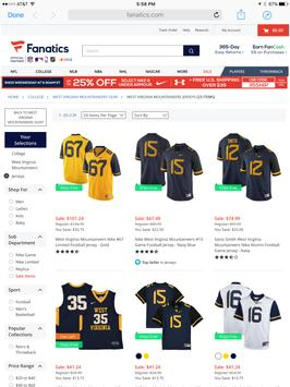 Mountaineer Fan Store apk screenshot