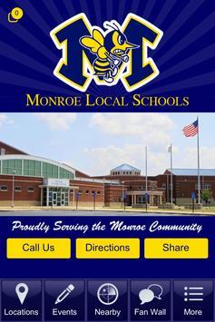 Monroe Ohio Local Schools poster