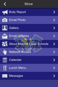 Monroe Ohio Local Schools apk screenshot