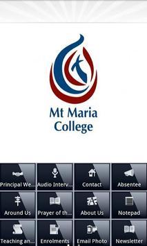 Mt Maria College Mitchelton poster