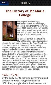 Mt Maria College Mitchelton screenshot 2