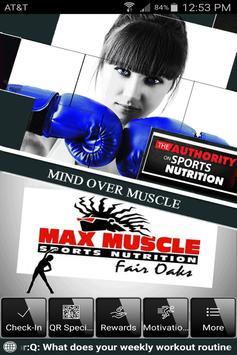 Max Muscle Fair Oaks poster