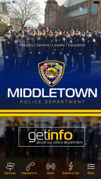 Middletown Police Department poster