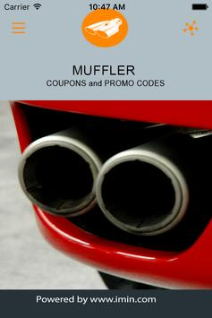 Muffler Coupons - I'm In! poster