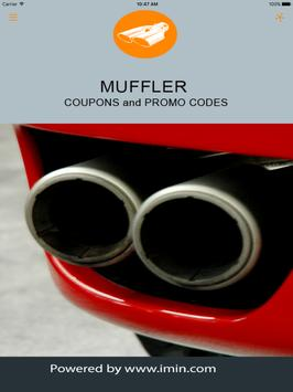 Muffler Coupons - I'm In! apk screenshot