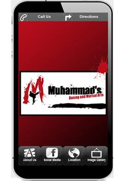 Muhammad's Boxing and MA poster
