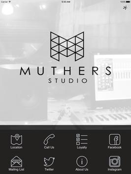 MUTHERS STUDIO poster