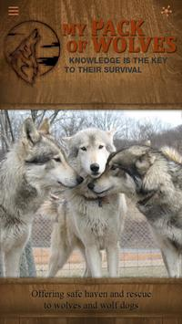 My Pack of Wolves Sanctuary poster