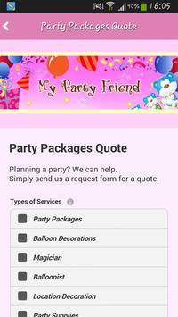 My Party Friend screenshot 3