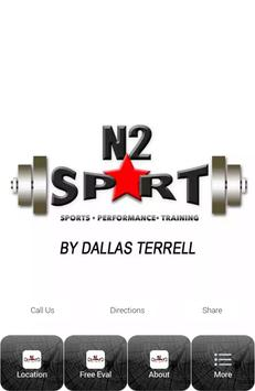 N2SPRT Sports Performance Trng poster