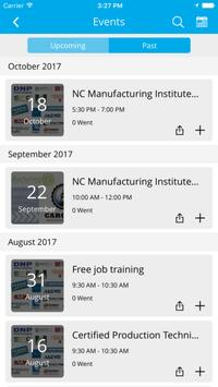 NC Manufacturing Institute poster