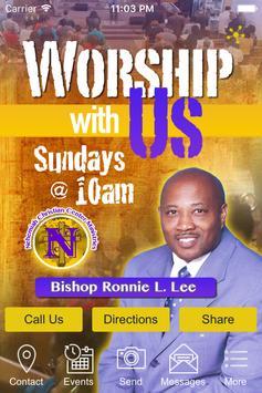 Nehemiah Christian Center poster