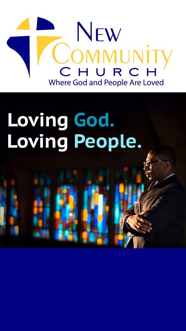 New Community Church poster