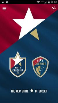 North Carolina FC/Courage poster