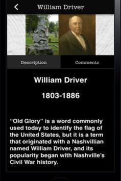 Nashville City Cemetery apk screenshot