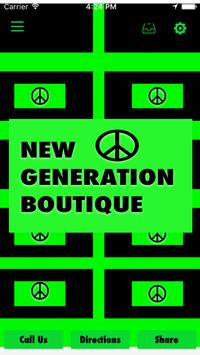 New Generation Boutique poster