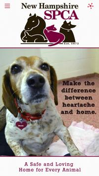 New Hampshire SPCA poster