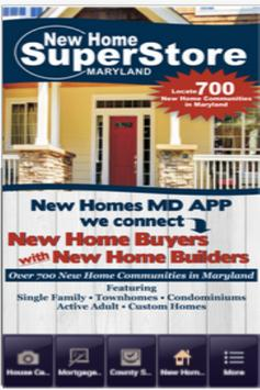 New Homes - MD poster