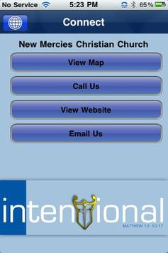 New Mercies Christian Church apk screenshot