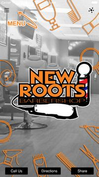 New Roots Barbershop poster