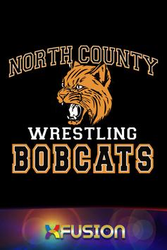 North County Bobcats Wrestling poster