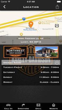 Northwest Harley-Davidson® screenshot 1